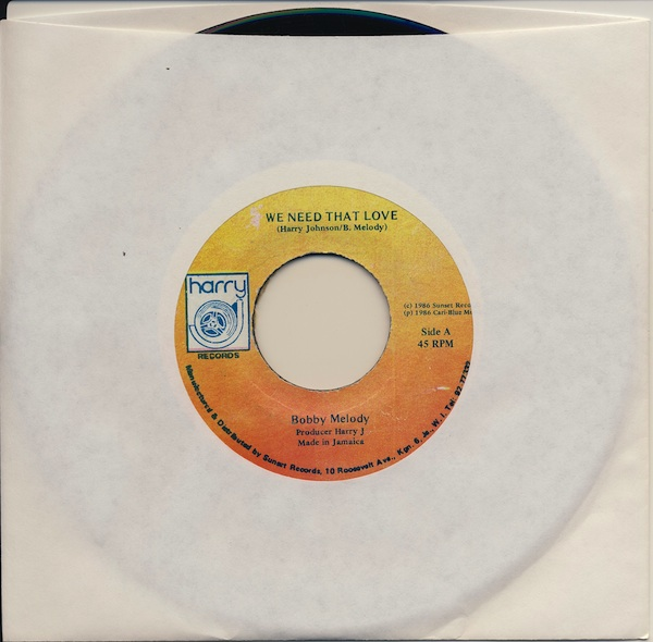 "Bobby Melody - We Need That Love (HJ6906 -7"")"