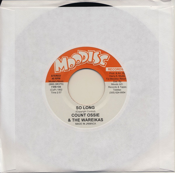 "Count Ossie - So Long (FXM105 -7"")"