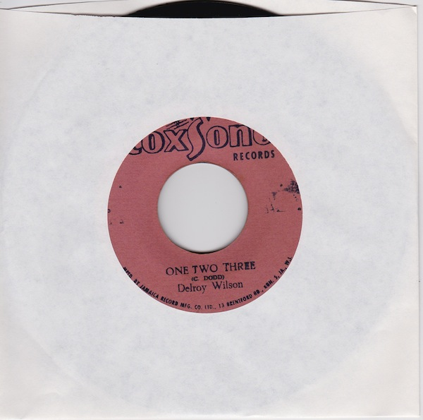 "Delroy Wilson - One Two Three (CD2471 - 7"") - Click Image to Close"