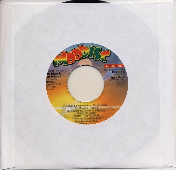 "Dezzie D - No Man Is An Island (HM3044 -7"")"
