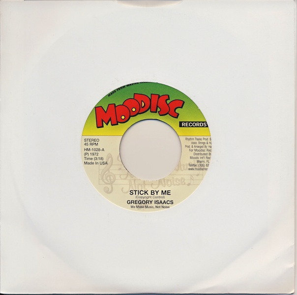 "Gregory Isaacs - Stick By Me (HM1028 -7"")"