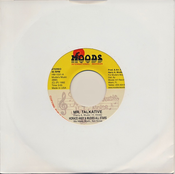 "Horace Andy - Mr. Talkative (HM1031 -7"")"