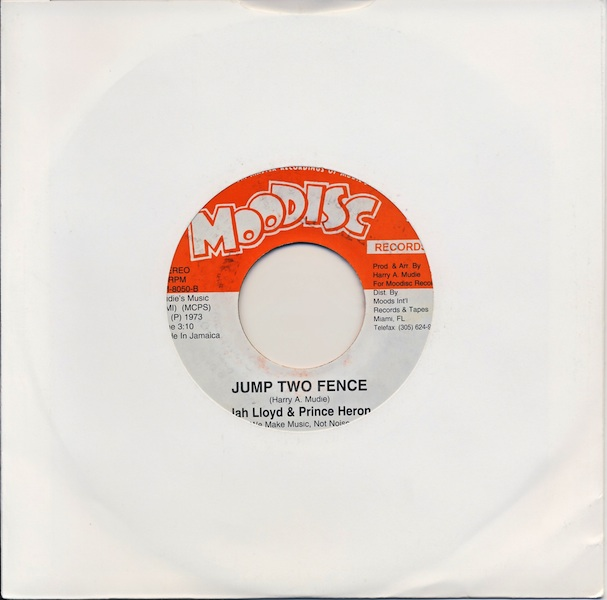 "Jah Lloyd & Prince Heron - Jump Two Fence (HM8050 -7"")"