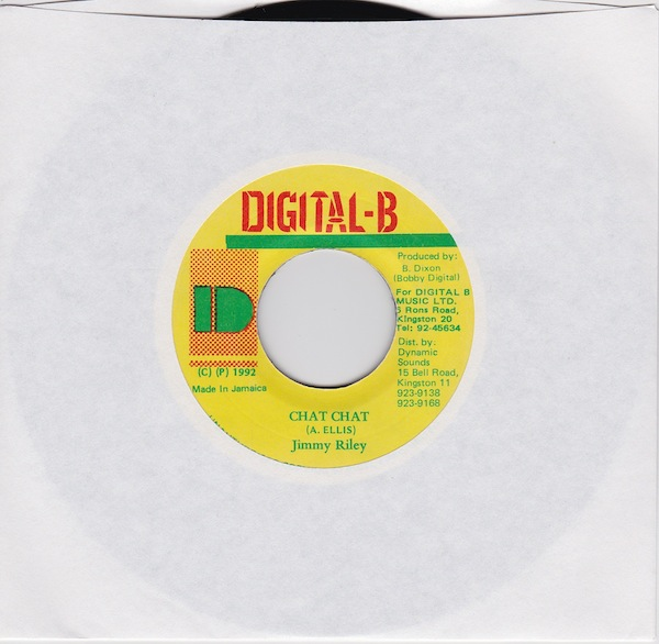 "Jimmy Riley - Chat Chat (DB3658 - 7"" )"