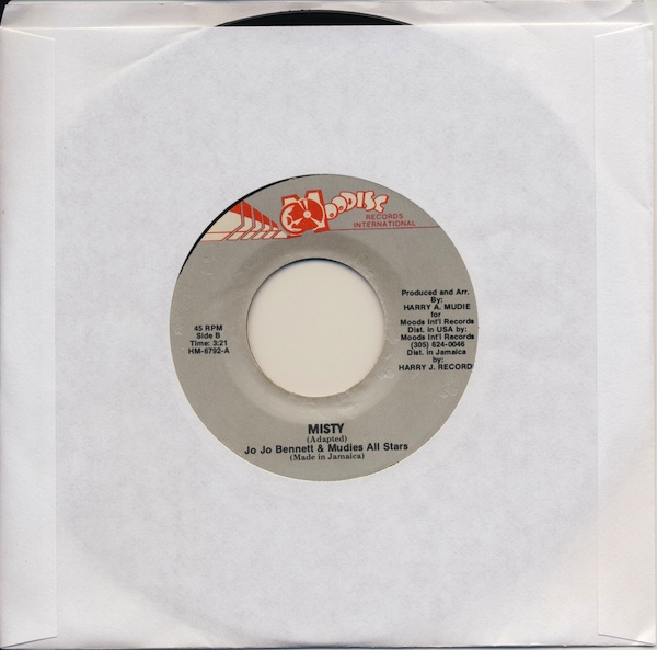 "Jo Jo Bennett & Mudies All Stars - Misty (HM6792 - 7"")"