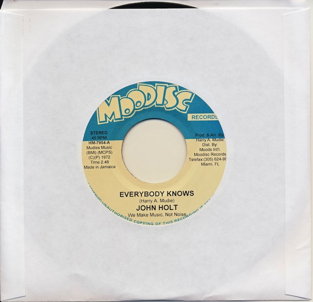 "John Holt - Everybody Knows (HM7954 -7"")"