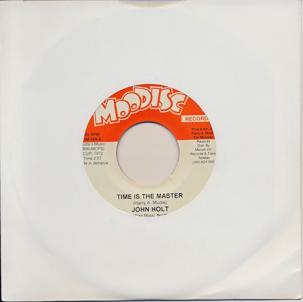 "John Holt - Time Is The Master (HM105 -7"")"
