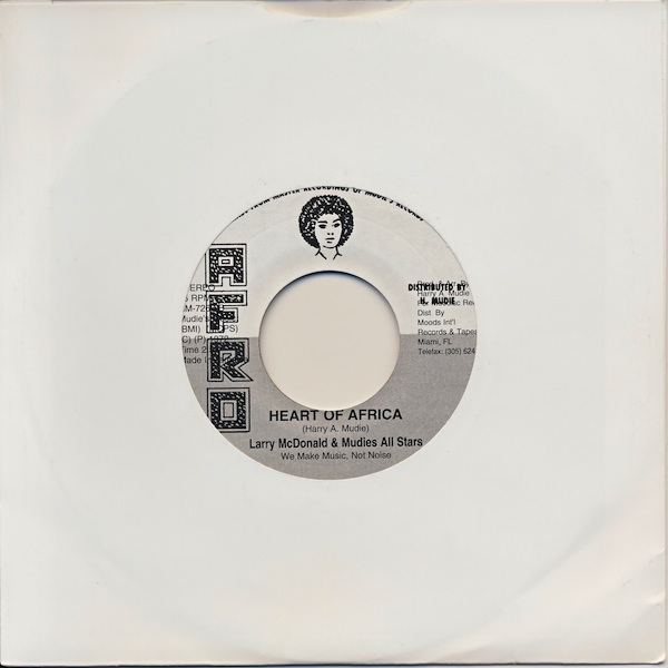 "Larry McDonald - Heart Of Africa (AHM7267 -7"")"