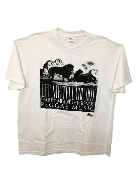 Let Me Tell You Boy T-Shirt - Harry Mudie & Friends Reggae Music