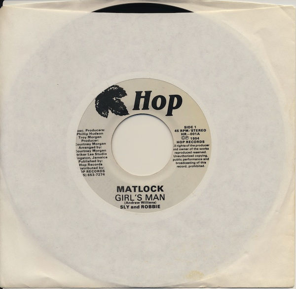 "Matlock - Girl's Man (HR-001 -7"")"