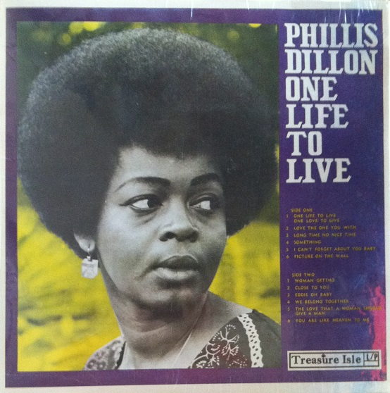 Phillis Dillon - One Life To Live -(Treasure Isle/HIGH note -LP)