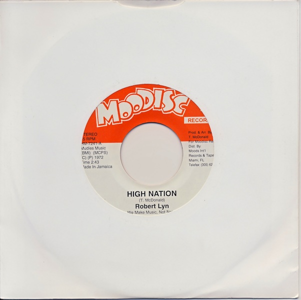 "Robert Lyn - High Nation (HM7241 -7"")"