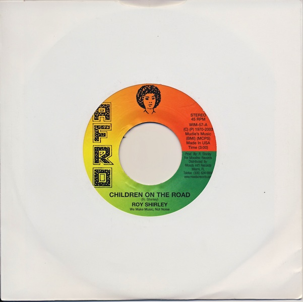 "Roy Shirley - Children On The Road (AWIM57 -7"")"