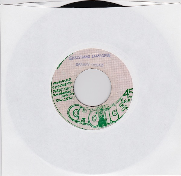 "Sammy Dread - Christmas Jamboree (FC-3433 - 7"" )"