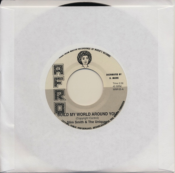 "Slim Smith & The Uniques - Build My World Around You(AWIM55 -7"")"