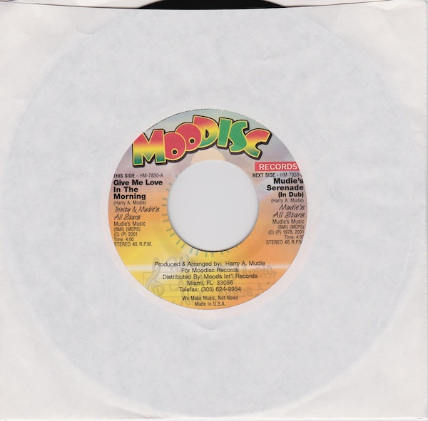 "Trinity/Mudies All Stars-Give Me Love In The Morning (HM7830-7"")"